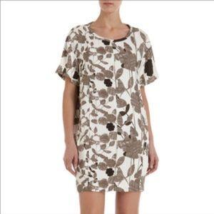 DVF Brenda floral shift dress